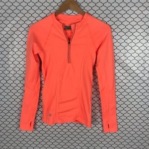 Athleta 1/4 zip tracker top